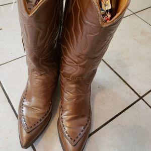 Old  Ladies Justins Boots 4.5 C